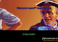 Publicidad adentro del juego. La gente de LucasFilm Games lo hacía con humor y acá nos intentaban vender el Loom, otra excelente aventura gráfica contemporánea de la misma empresa.