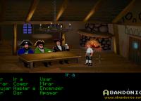 Los jefes piratas nos dirán las tres pruebas que debemos superar si es que queremos convertirnos en un pirata.