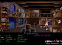 La vieja tienda del pueblo, en donde conseguiremos una buena espada, una pala, caramelos de menta y el camino hacia el escondite del Sword Master.