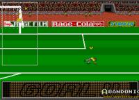 En cambio, cuando el jugador convierte su gol de penal, se manda una terrible vertical como festejo.