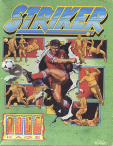 Tapa del videogame Striker de Rage Software Ltd.