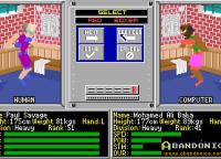 La pantalla de selección de personajes.