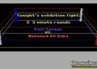 La presentación de los peleadores