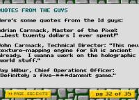 Opiniones del juego... de los mismos desarrolladores. No tenían abuela (?)
