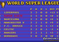 Las posiciones de la liga ¡hasta con diferencia de gol! Recuerden que en esa época los equipos que ganaban sumaban de a dos puntos.